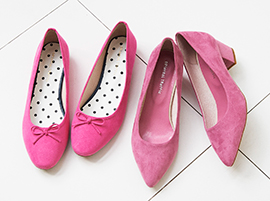 定番ものからトレンドものまで幅広いアイテムを取り揃えているのでシーンに合わせた靴選びができ、サイズは22.0㎝~26.0㎝まで豊富に展開しています。